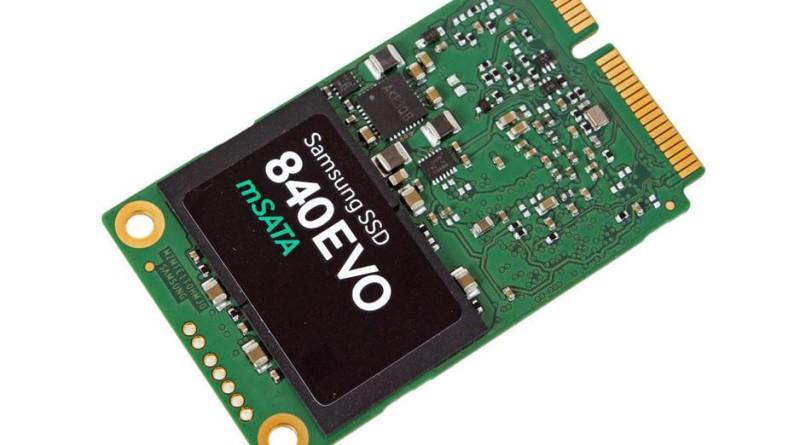 Dysk SSD z interfejsem mSATA oraz formacie M.2. Można go zamontować zwrwno do komputera stacjonarnego, jak i laptopa (sprawdźmy, czy dana płyta obsługuje ten interfejs).
