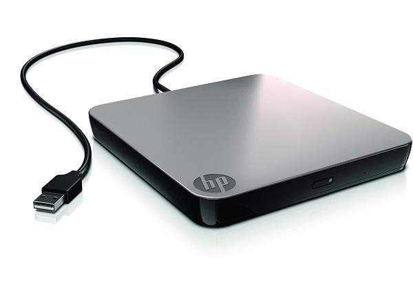 Dysk zewnętrzny wybierany jest przede wszystkim w celu utworzenia dodatkowej kopii zapasowej dla ważnych plików. W tym sektorze możemy wybierać pomiędzy SSD lub tradycyjnymi HDD. Badzo ważny jest natomiast interfejs, który determinuje możliwości przesyłu danych. Na zdjęciu dysk zewnętrzny HP ze złączem USB 3.0, kompatybilnym wstecz z USB 2.0.
