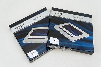 Dyski SSD Crucial MX200 500GB i 1TB to wysokobudżetowy pomysł na magazyn danych.