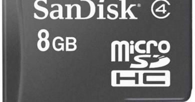 Karta pamięci SanDisk microSDHC 8GB Class 4