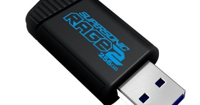 Pendrive Patriot Rage2 256GB z interfejsem USB 3.0 (USB 3.1 Gen1)